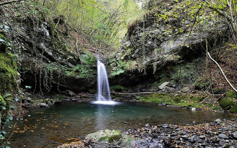 Piccole cascate a Gerosa